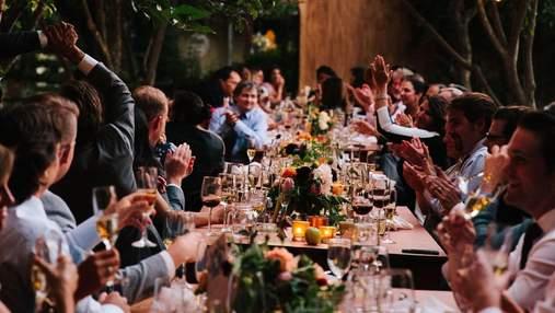 Гості мили посуд та не отримали святкового торта: як наречені вирішили зекономити на весіллі