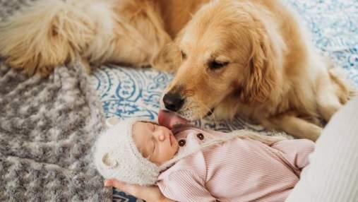 Ухватился за палец отца и знакомство с семьей: трогательные фото новорожденных детей