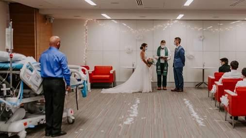 Церемония в больнице вместо пышной свадьбы: почему жених и невеста изменили план празднования