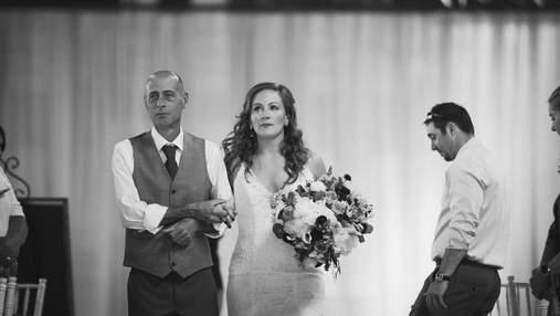 Зворушливий сюрприз для нареченої: як друг її покійного батька вирішив вести дівчину до вівтаря