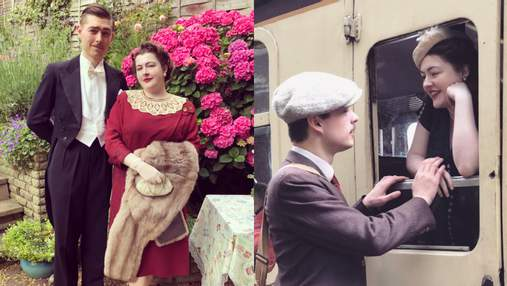 Музика на грамофоні й вінтажний одяг: пара відмовилася від сучасного комфорту, щоб жити в 1930-х