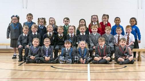 Одразу 15 пар близнюків підуть до першого класу у Шотландії: милі фото