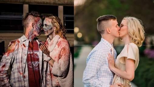 Незнайомці одружилися після фотосесії у стилі зомбі: як незвичний фотопроєкт створив нову сім'ю