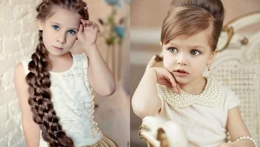 Зачіски для дівчаток: варіанти на кожен день