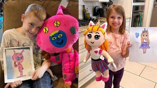 Справжні іграшки на основі малюнків: як сестра надихнула брата оживляти дитячі фантазії