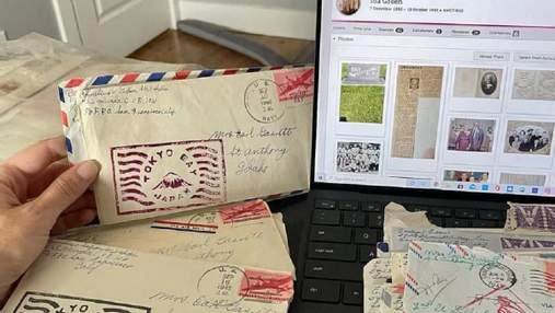 Жінка повернула сім'ї загублені листи часів Другої світової: на неї чекав сюрприз