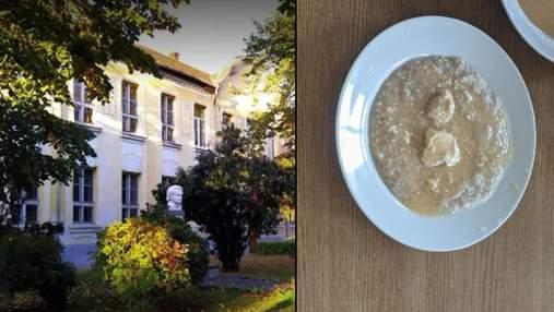 """""""Помиї"""": батько учня показав фото жахливих страв з шкільної їдальні на Закарпатті"""